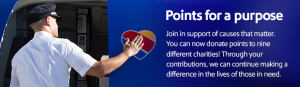 SW Airlines- Donation Points